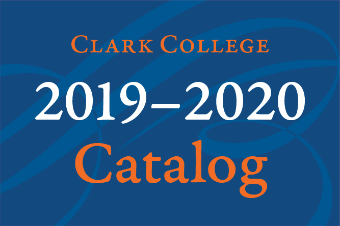Current Clark College Catalog